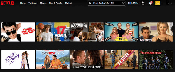 Watch Ferris Bueller's Day Off (1986) on Netflix 2