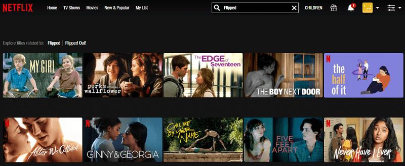 Watch Flipped (2010) on Netflix 1