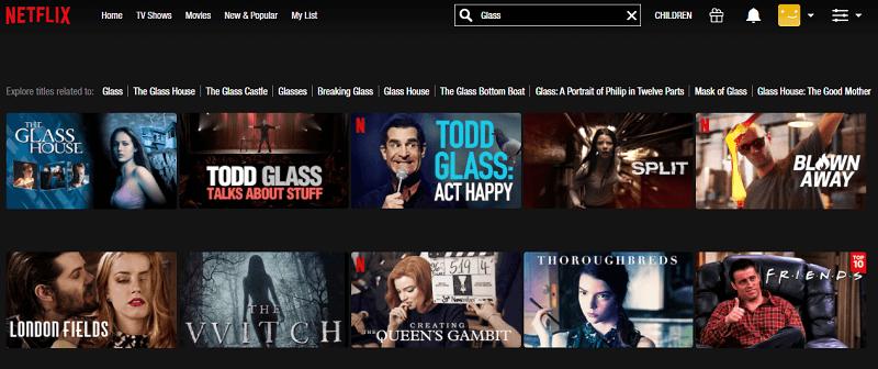 Watch Glass (2019) on Netflix 1