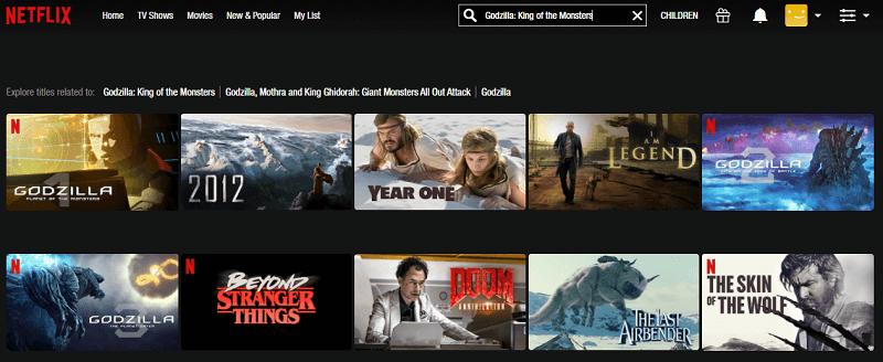 Watch Godzilla - King of the Monsters (2019) on Netflix 1