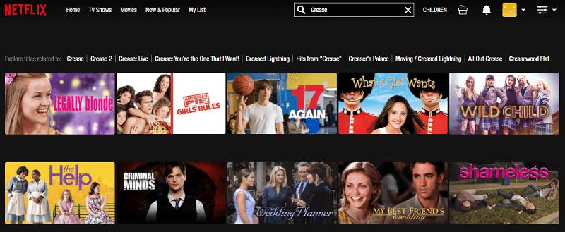 Watch Grease (1978) on Netflix 1