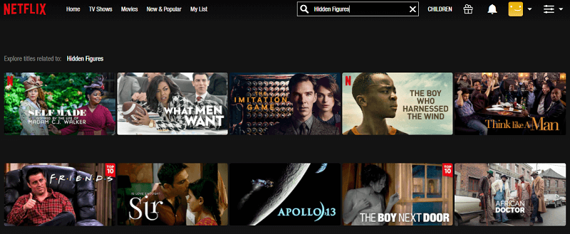Watch Hidden Figures (2016) on Netflix 1