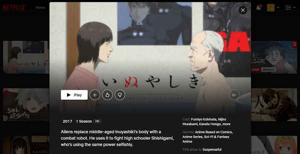Watch Inuyashiki Last Hero on Netflix 3