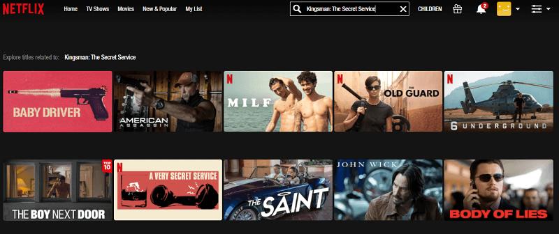 Watch Kingsman - The Secret Service (2014) on Netflix 1