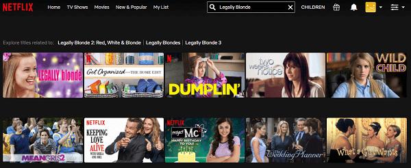 Watch Legally Blonde (2001) on Netflix 2