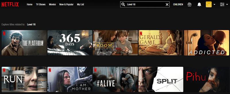 Watch Level 16 (2018) on Netflix 1