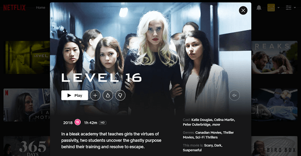 Watch Level 16 (2018) on Netflix 3