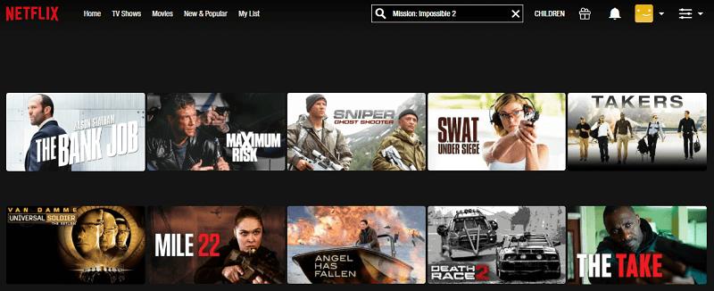Watch MI 2 (2000) on Netflix 1