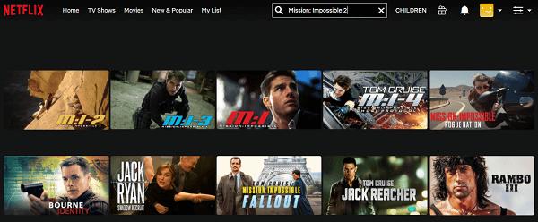 Watch MI 2 (2000) on Netflix 2
