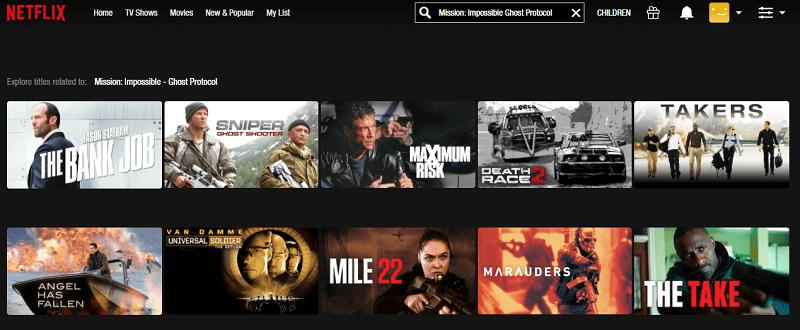 Watch MI - Ghost Protocol (2011) on Netflix 1