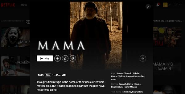 Watch Mama (2013) on Netflix 3