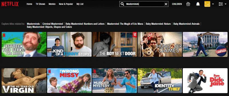 Watch Masterminds (2016) on Netflix 1