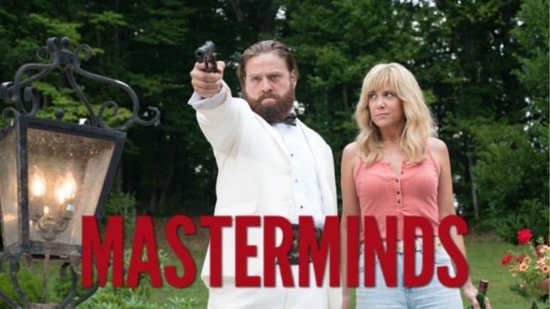 Watch Masterminds (2016) on Netflix