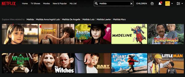 Watch Matilda (1996) on Netflix 2