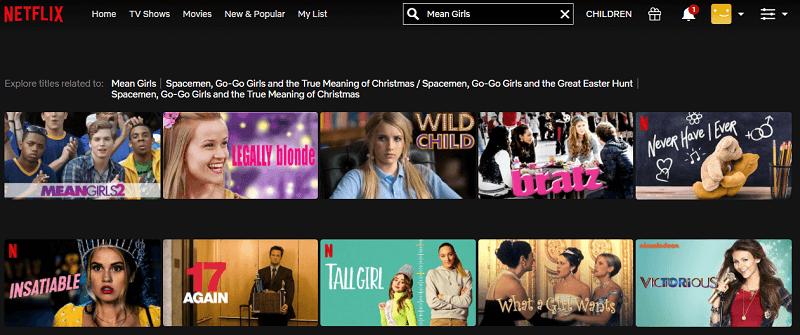 Watch Mean Girls (2004) on Netflix 1