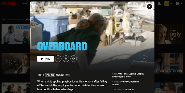 Watch Overboard (2018) on Netflix 3