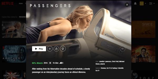 Watch Passengers (2018) on Netflix 3