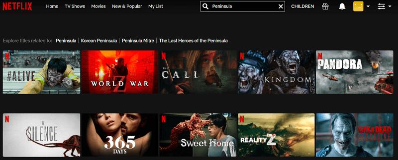 Watch Peninsula (2020) on Netflix 1