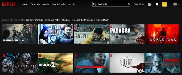 Watch Peninsula (2020) on Netflix 2