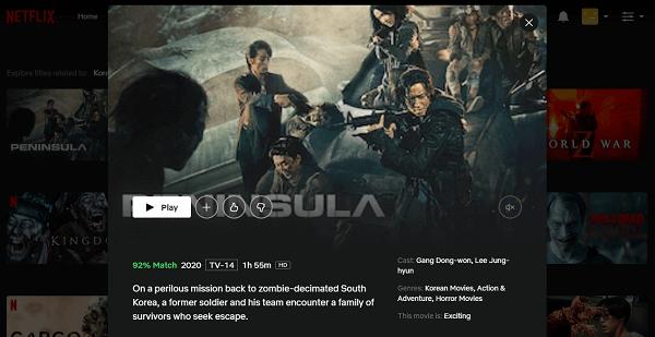 Watch Peninsula (2020) on Netflix 3
