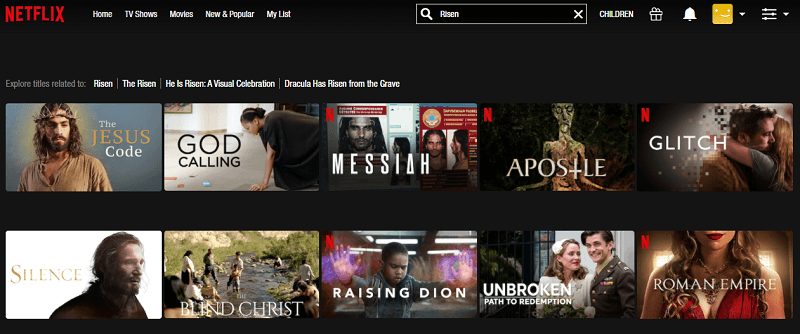 Watch Risen (2016) on Netflix 1