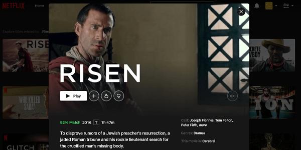 Watch Risen (2016) on Netflix 3