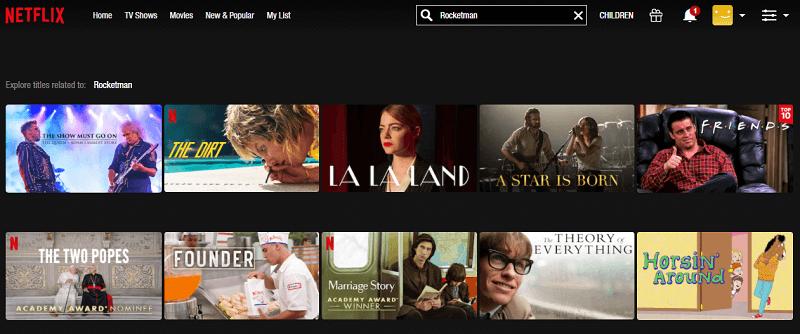 Watch Rocketman (2019) on Netflix 1