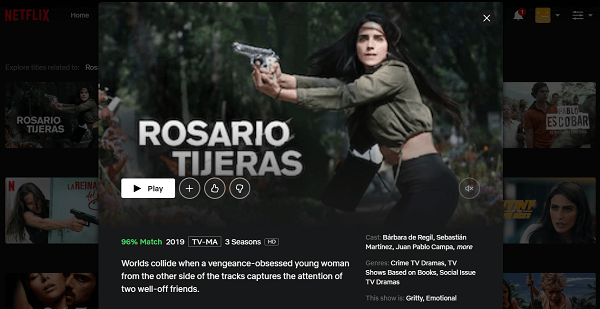 Watch Rosario Tijeras on Netflix 3