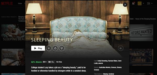 Watch Sleeping Beauty (2011) on Netflix 3