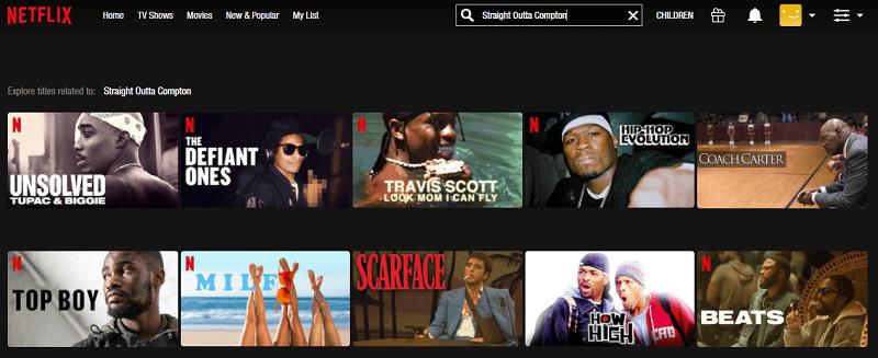Watch Straight Outta Compton (2015) on Netflix 1