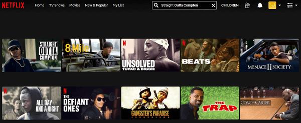 Watch Straight Outta Compton (2015) on Netflix 2
