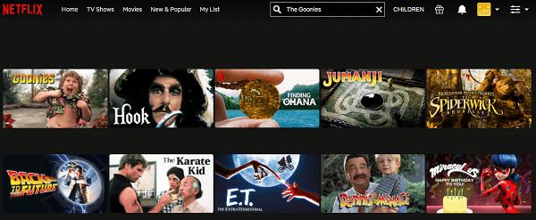 Watch The Goonies (1985) on Netflix 2