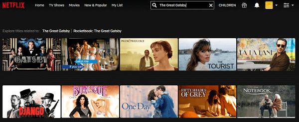 Watch The Great Gatsby (2013) on Netflix 1