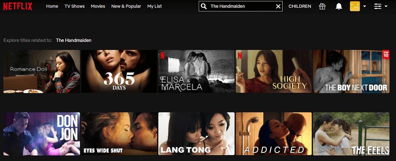 Watch The Handmaiden (2016) on Netflix 1