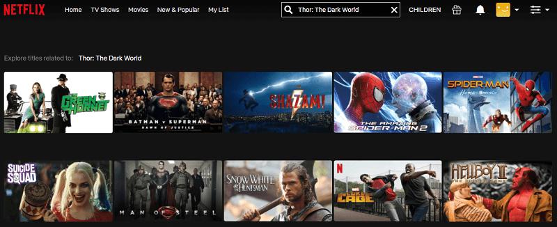 Watch Thor - The Dark World (2013) on Netflix 1