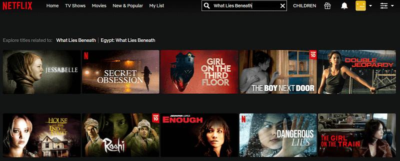 Watch What Lies Beneath (2000) on Netflix 1