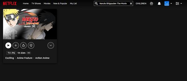 Watch Naruto Shippuden The Movie: Bonds (2008) on Netflix