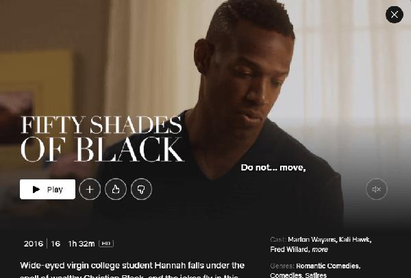 Watch Black Shades of Black on Netflix 3