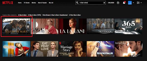Watch A Star Is Born on Netflix
