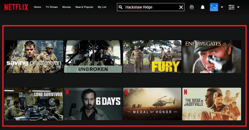 Watch Hackshaw-Ridge on Netflix