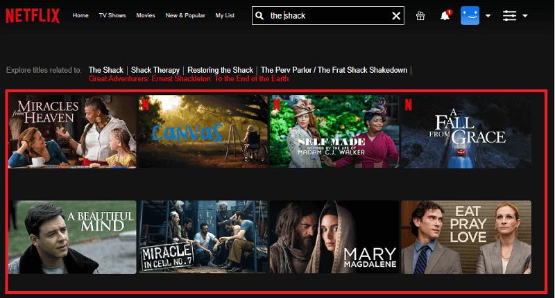 Watch The Shack on Netflix