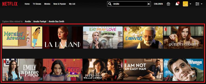 Watch Amélie (2001) on Netflix 1