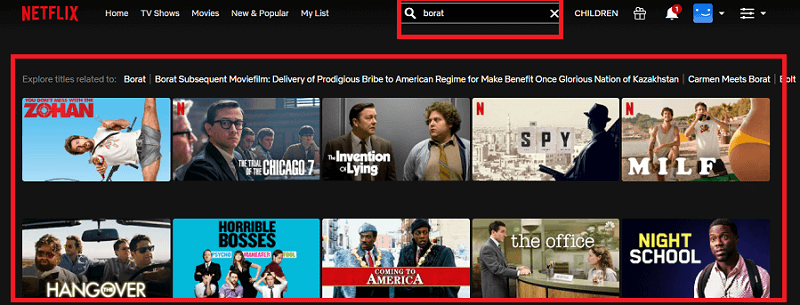 Watch Borat (2006) on Netflix 1