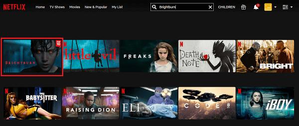 Watch Brightburn (2019) on Netflix 2