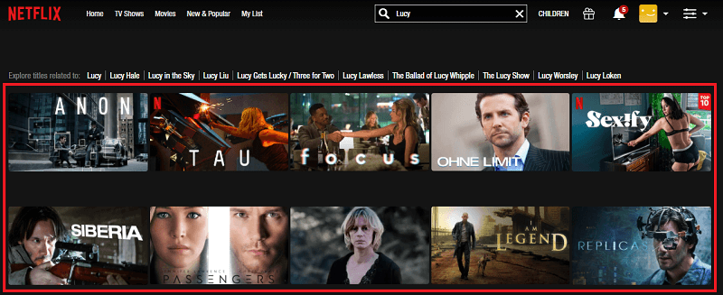 Watch Lucy (2014) on Netflix 1