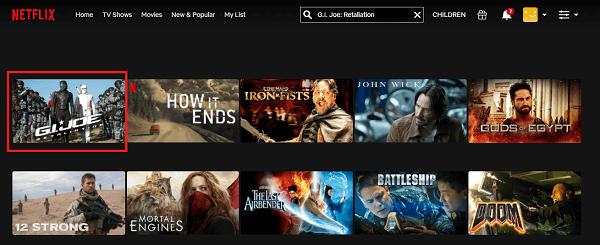Watch MG.I. Joe - Retaliation (2013) on Netflix 2