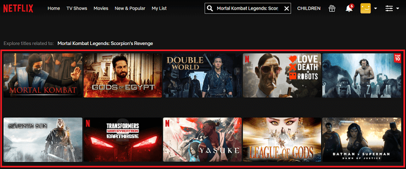 Watch Mortal Kombat Legends - Scorpion's Revenge (2020) on Netflix 1
