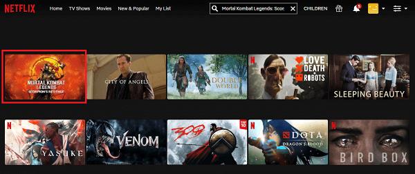 Watch Mortal Kombat Legends - Scorpion's Revenge (2020) on Netflix 2