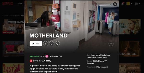 Watch Motherland on Netflix 3