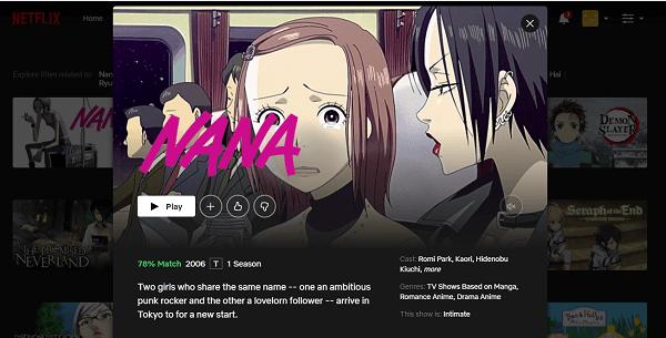 Watch Nana on Netflix 3